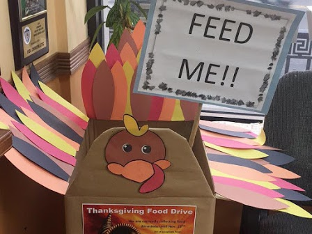 Annual Thanksgiving Food Drive!